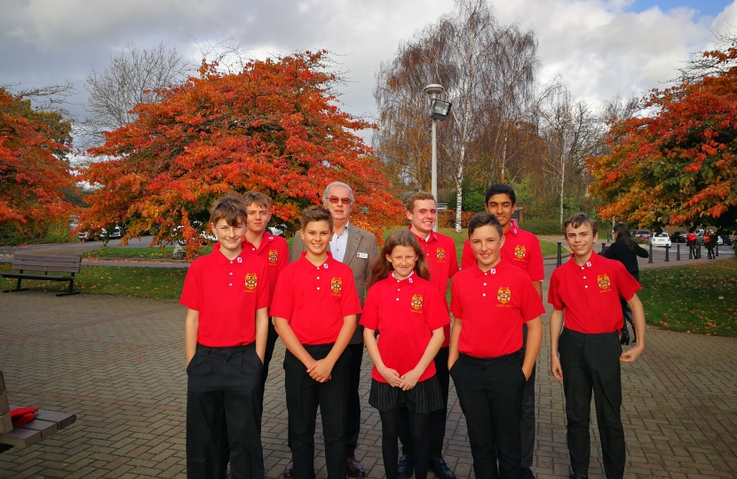 Dame alice Owen School's Golf Team